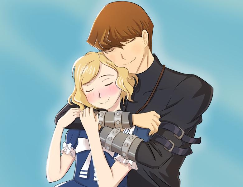 couple anime style