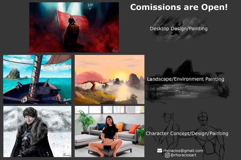Concept Art/Environment/Character Design