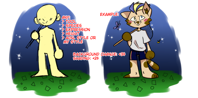 Animal Crossing YCH!