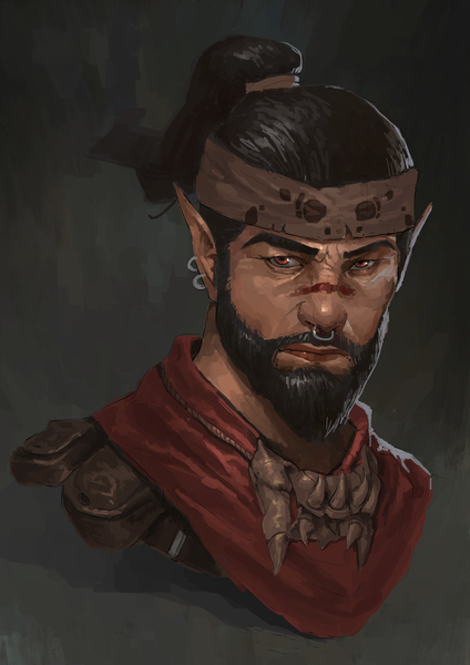 Character painting (Bust up)