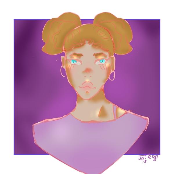 Full colored portrait