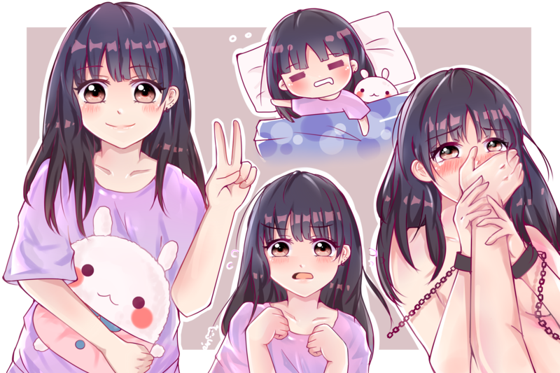 Anime cute kawaii drawing