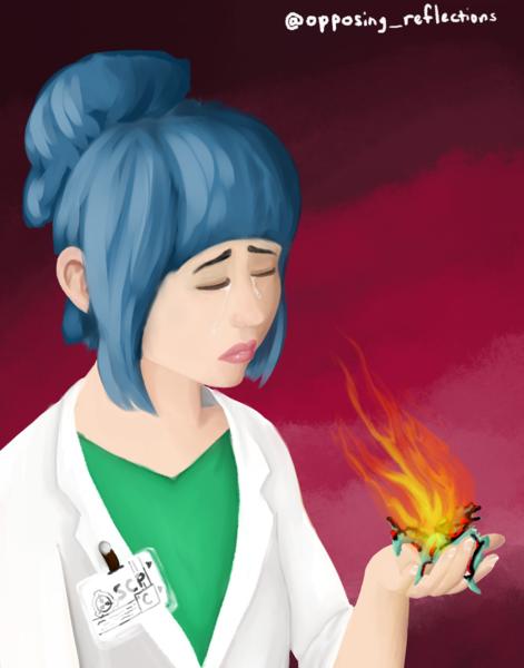 Digital Painting Character Portrait