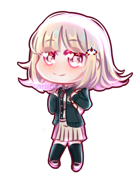 Colored chibi fullbody