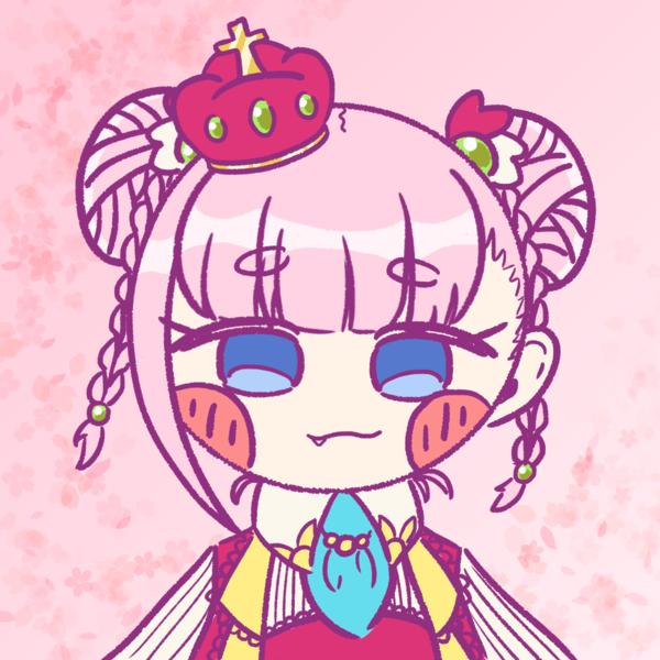 Colored chibi icon
