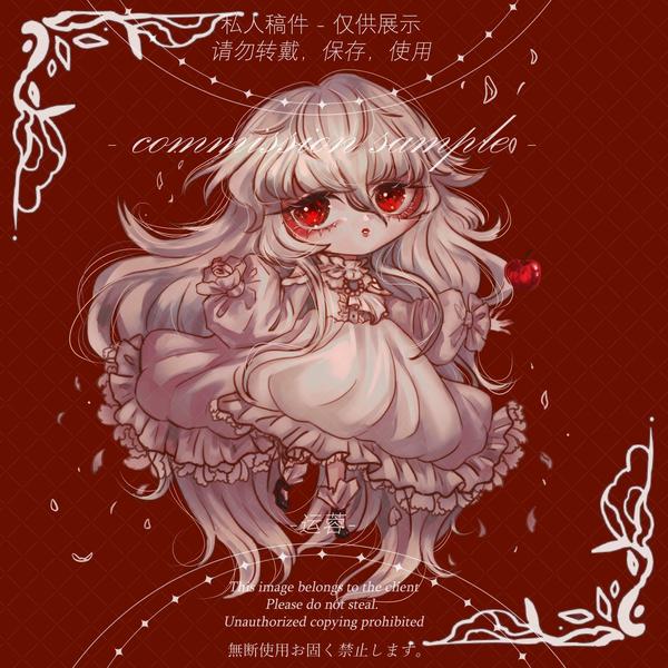 cute chibi / emote anime colored