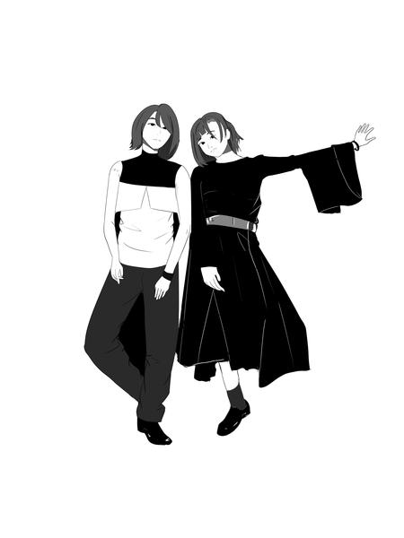 Black n White Sketch