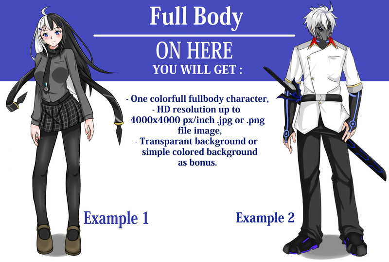full body character No Equipment