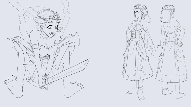 Character Sketch (Full Body)