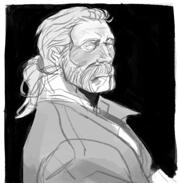 Chest Sketch
