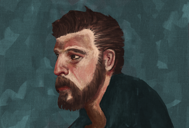Fully Colored Digital Portrait
