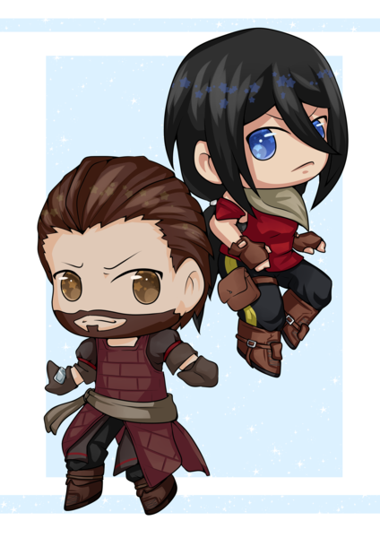 Simple Chibi Colored - Hot Deal