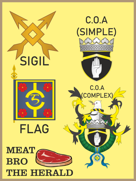 EMBLEMS and FLAGS