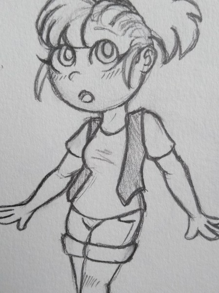 Full-bodied Chibi Sketch