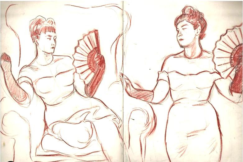 Classy Portrait Sketches