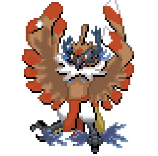 80x80 Front Pokemon / Fakemon Sprite