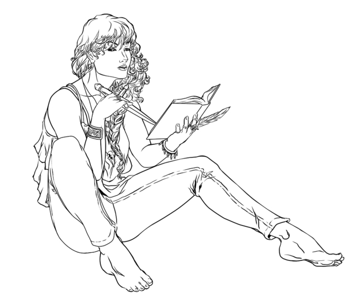 Character Pin-up Sketch