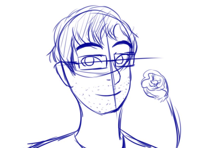 Digital Sketch Bust