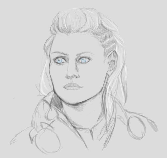 Bust sketch