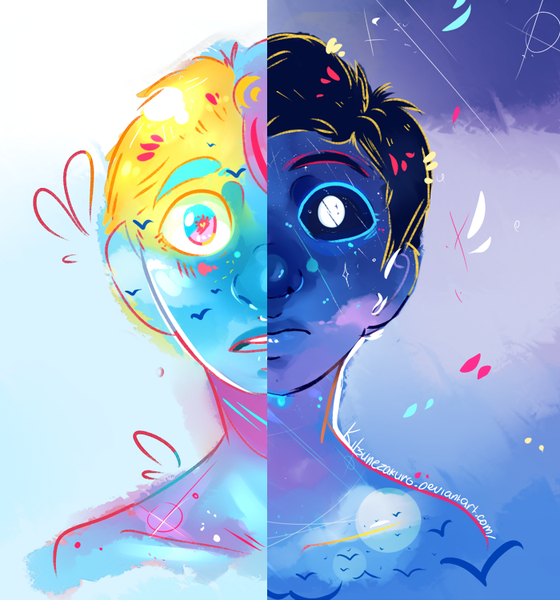 colourful headshots
