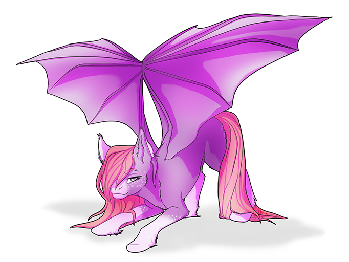 Full Body Colored Pony