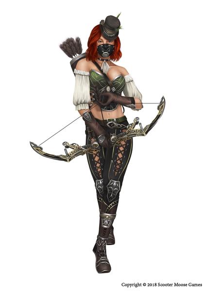 Full body character design