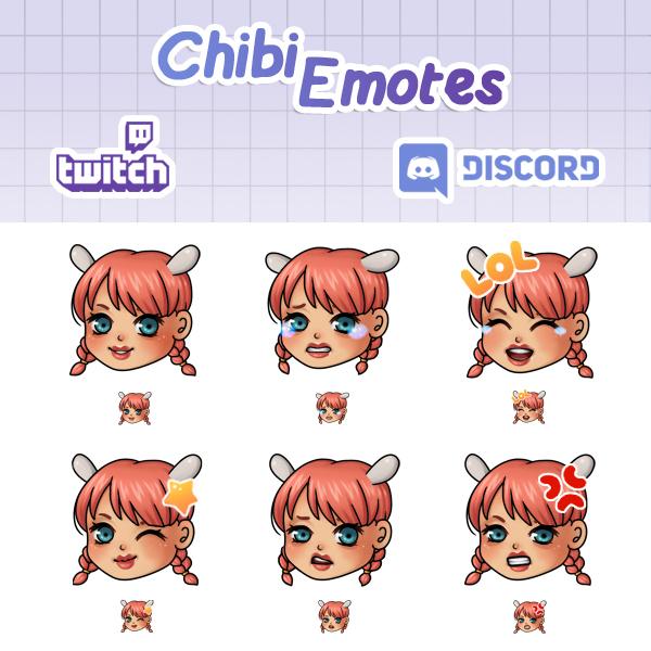 Chibi Emotes