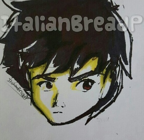 Face Sketch- Light Color