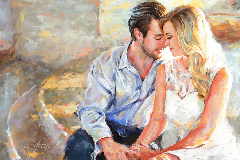 Impressionistic Digital Painting.
