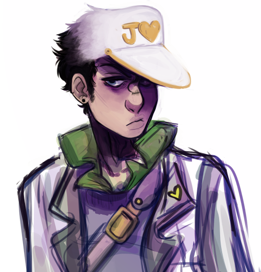 Rough Coloured Bust