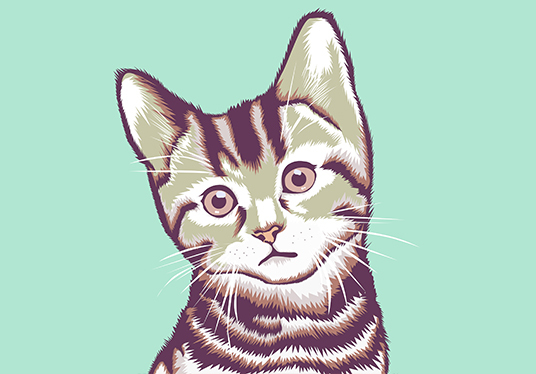 i will make vector art of your pet
