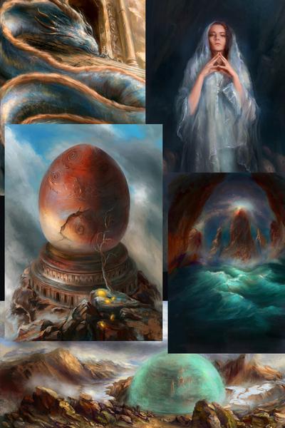 Fantasy/Sci-fi Environments, Characters & Illustration
