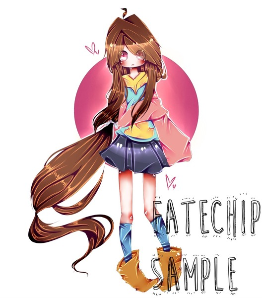 cute style full body-colored