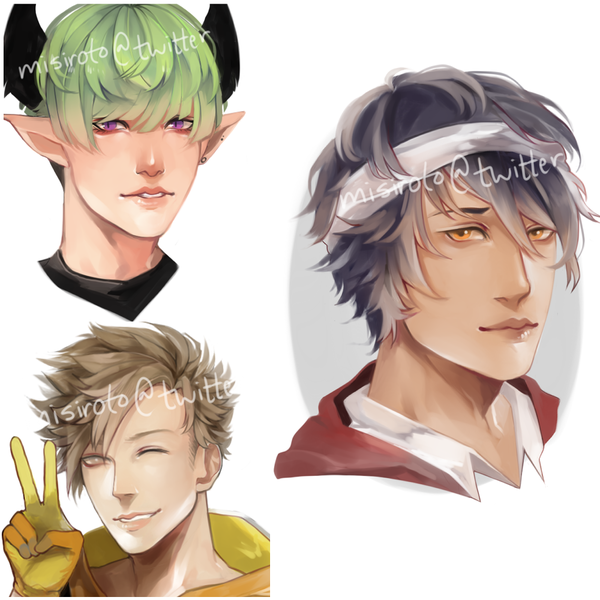 Painted Headshots