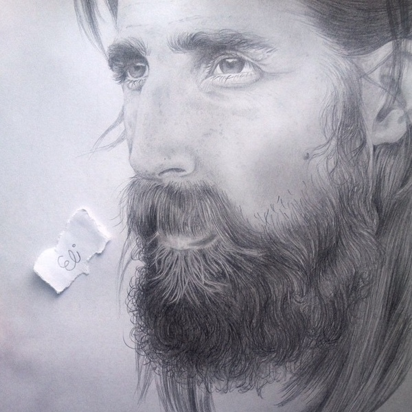 Graphite sketch realistic portraits