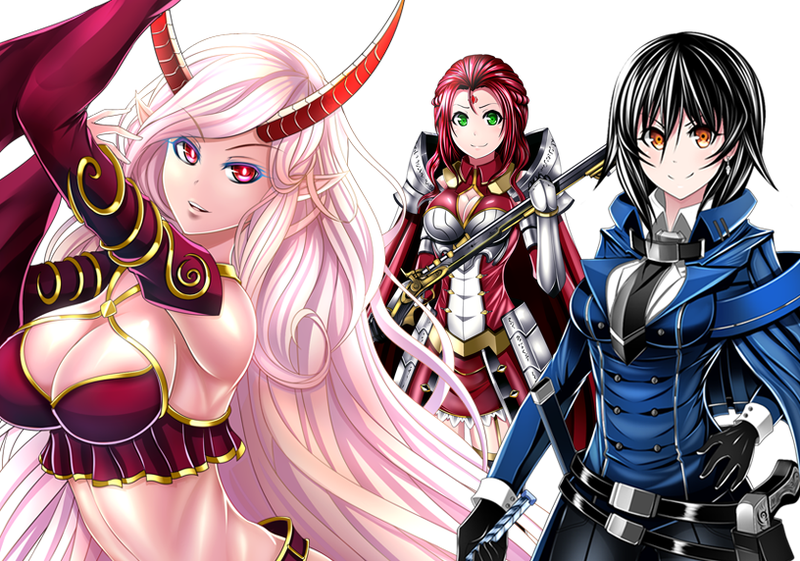 Colored Anime Artworks