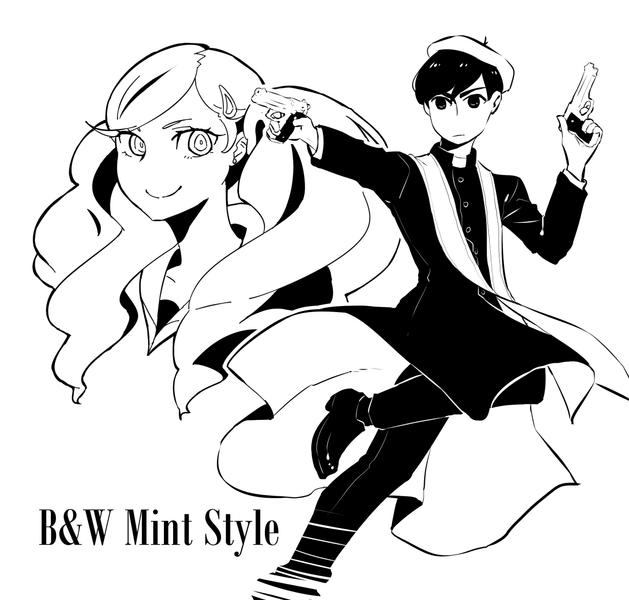B&W Mint Style