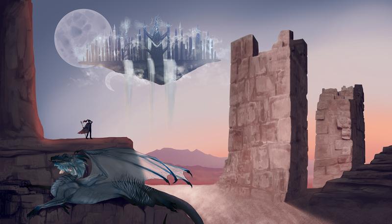 Landscape-Illustration Digital Painting
