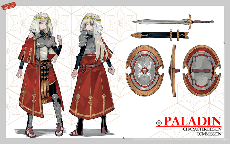 Character Design Mecha/Armor accept too