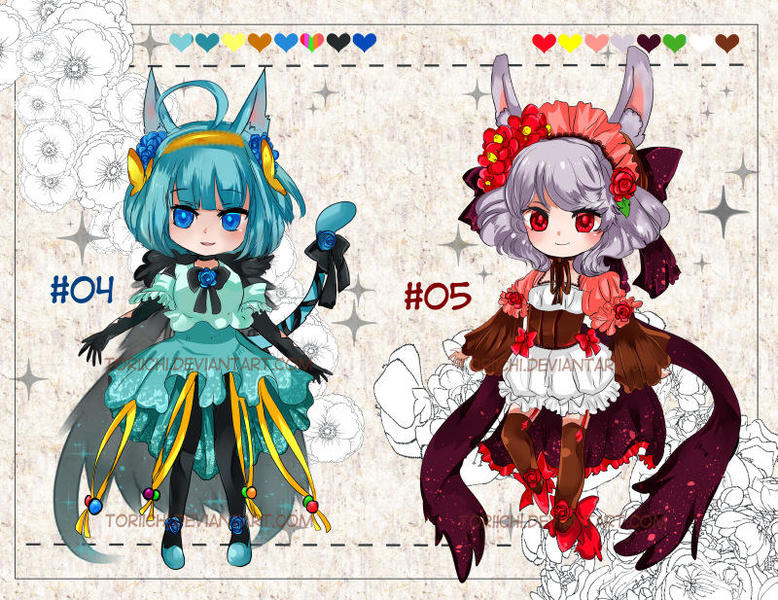 Colored Chibi