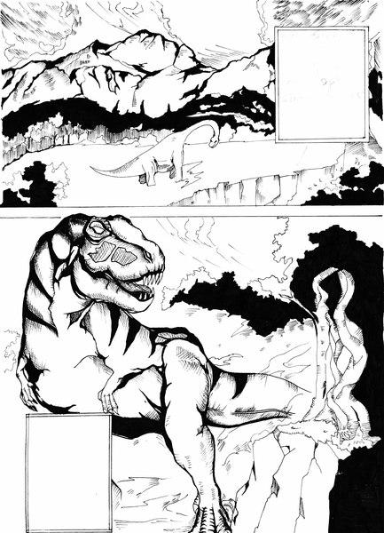 Manga comic page