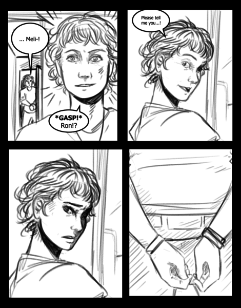 Comic page Sketch (penciler)