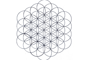Flower Of Life Tattoo Stencil Artists Clients