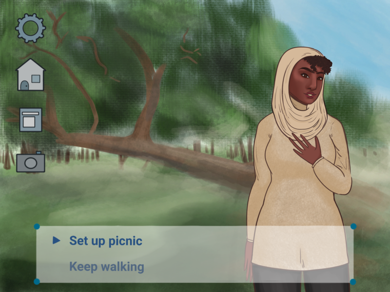 Fake Dating Sim Screenshot