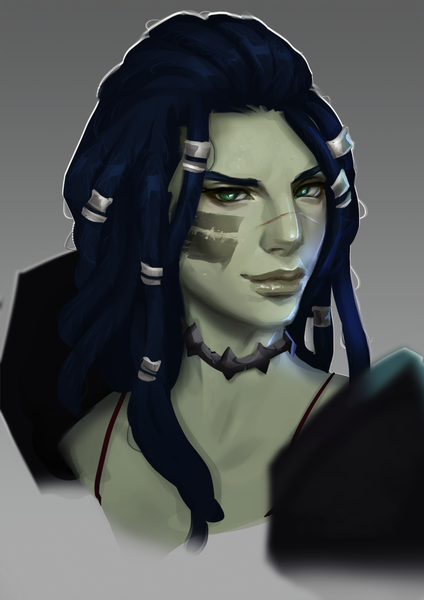 Stylized Character Portrait