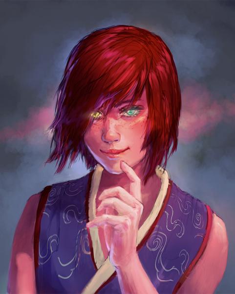 Fantasy Character Portrait