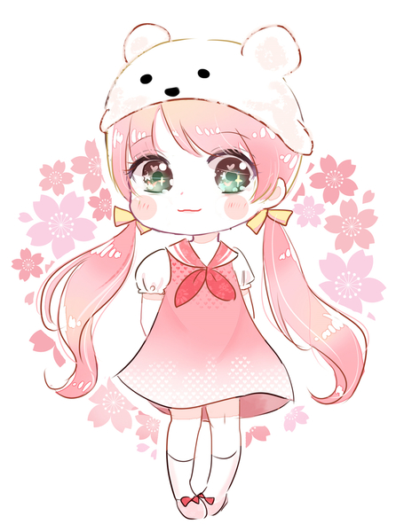 Coloured chibi full body