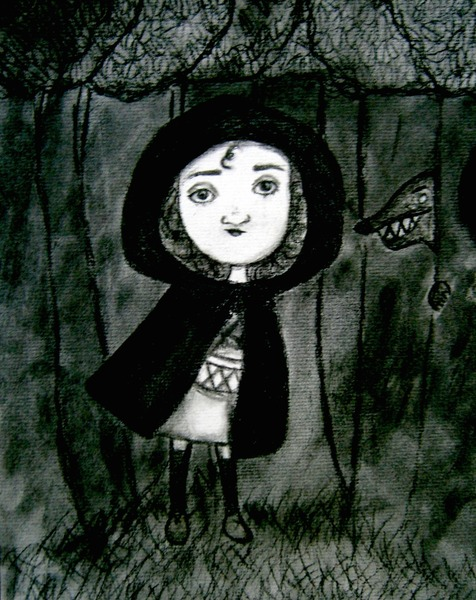 Charcoal Illustration of Your Favorite Fairytale