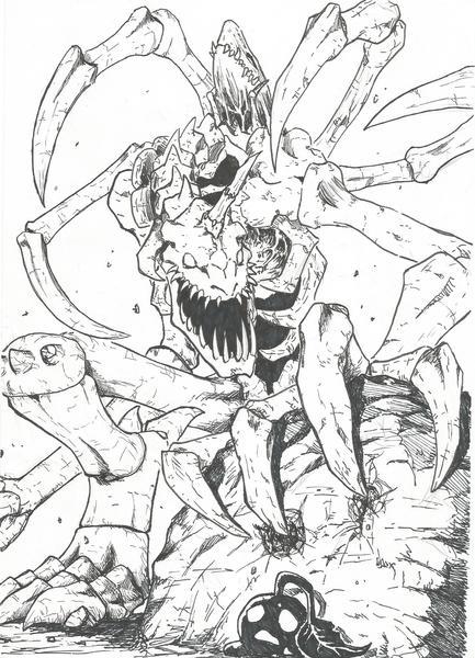 Digimon comission!