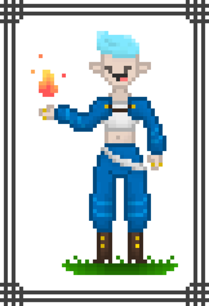 Character Pixel Art (Full Body)